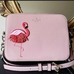 Kate Spade Flamingo by the Pool Camera Bag